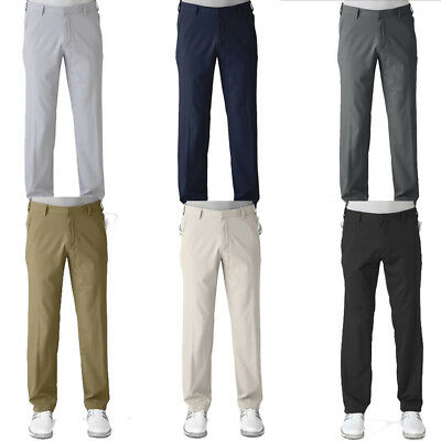 Adidas Mens Climalite 3 Stripes Golf Pants–Multiple Colors Available–Pick Size