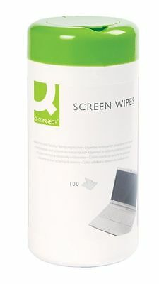 Pack of 100 Quality Laptop, Computer Screen & Keyboard Cleaning Wipes - KF04501