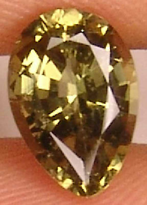 KORNERUPINE  1.4 CT Pear Cut 8.47 X 5.96 MM Natural Collectors' Gem 11032547S