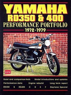 Yamaha RD350 & 400 Performance MOTORCYCLE 1972-1979 road test book
