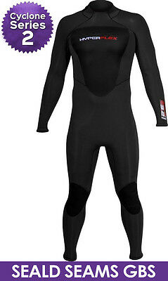Hyperflex Cyclone 2 Men's Wetsuit 4/3mm Surfing Diving - ALL NEW DESIGN!