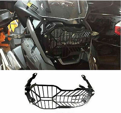 Headlight Guard Mesh Grill  Protector Cover For BMW R1200 GS Adventure ADV 13-16