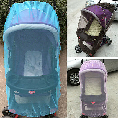 New Infant Mosquito Net For Stroller Universal Baby Pushchair Pram Insect Mesh