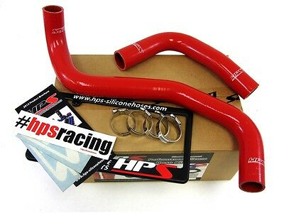 HPS 57-1340-RED-1 Red Silicone Heater Hose Kit Coolant