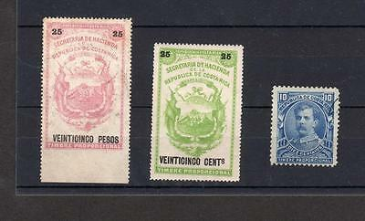 Costa Rica Revenue Stamps