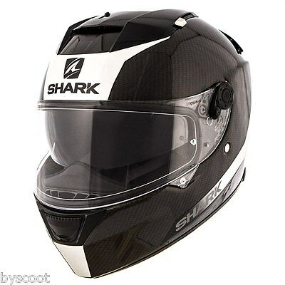 Casque integral SHARK Speed-R 2 Carbon Skin route moto double écran solaire NEUF