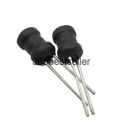 20Pcs 68uH 10% Tolerance Radial Coil Choke Inductor 6mm x 8mm