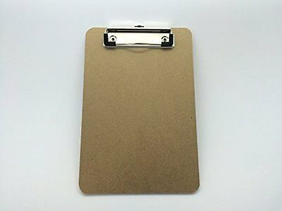 Pack of 10 A5 Quality Wooden Clipboards with Hanging Hole