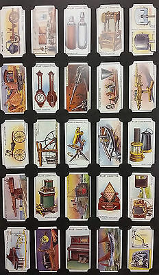 Card Collectors Society Full Repro Set of 50 - Wills - Famous Inventions