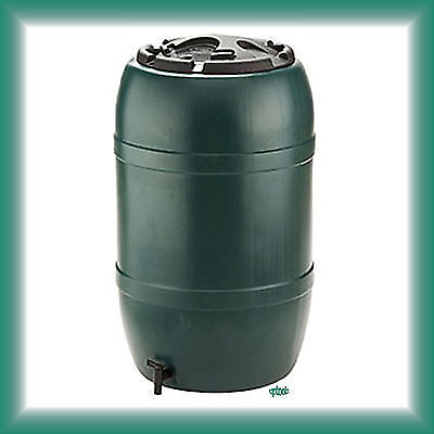 GB Made Ward Strata 210L 210 Litre Water Butt With Childproof Lid & Tap