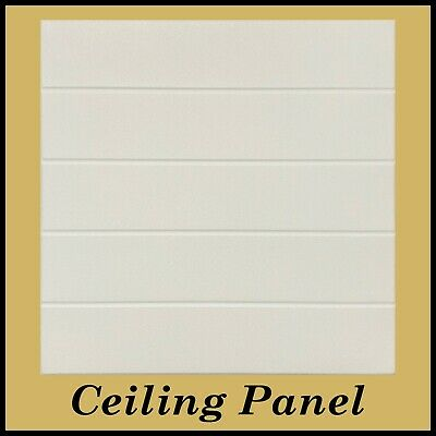 "Decorative Glue Up Styrofoam Ceiling Panel - 39.3""x6.5"" Pack of 12"