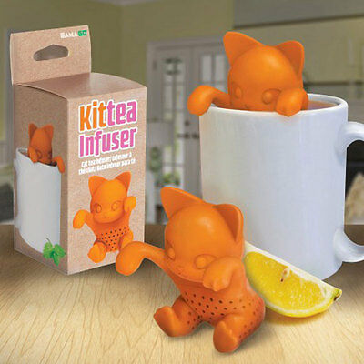 Gamago Kit-Tea Tea Infuser Loose Leaf Steeper Kitty Cat Kitten Cute Animal Gift
