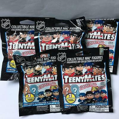 Random 5 packs TeenyMates NHL Series 1 Mystery Pack Minifigure boys gift HA93