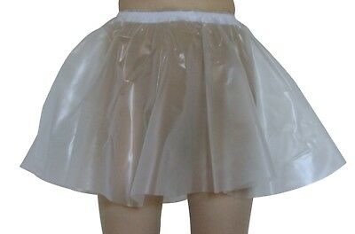 PVC Circle Skirt  Large Semi clear Transparent  Plastic Vinyl  Sissy Adult Baby