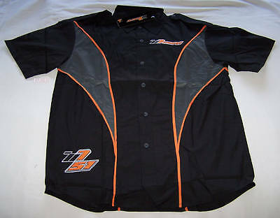 Greg Murphy Holden HSV Mens Black Embroidered Pit Crew Shirt Size S New