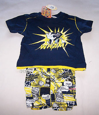 North Queensland Cowboys Mascot NRL Boys Printed Cotton Pyjama Set Size 00 New