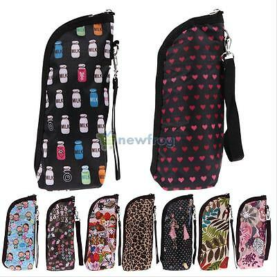 Travel Baby Feeding Milk Bottle Warmer Mummy Insulation Tote Bags Hanging Pouch