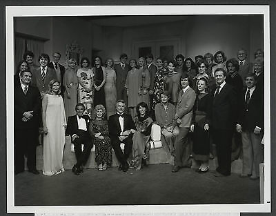 1979 NBC TV ANOTHER WORLD Soap Opera Nearly Full Cast Special Press Photo