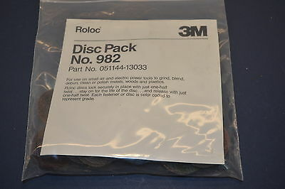 "NEW 28pc 3M ROLOC 2"" Scotchbrite + Grinding DISC PACK  with  Shank #WL7.4.4"