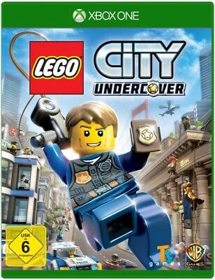 Nintendo 3DS LEGO City Undercover The Chase Begins Selects DEUTSCH Top Zustand