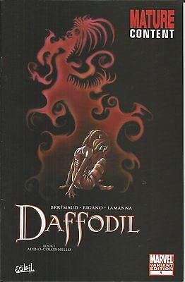Marvel Daffodil comic issue 1 Limited variant