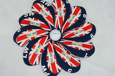 10 Golf Mad UK Iron Head Covers Headcovers for Callaway Taylormade Mizuno ONLY