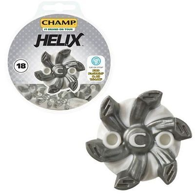 Champ Golf Helix 18 Spikes cleats studs  Slim Lock for golf shoes