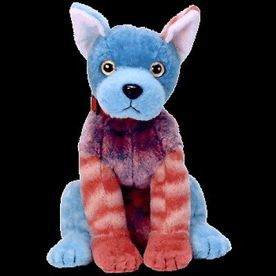 TY Beanie Baby HODGE-PODGE DOG Pink Front Paws Retired Mint Tag New Babies