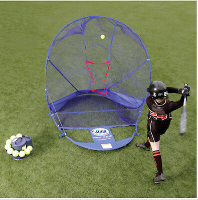 JUGS Soft Toss Machine Package! Includes 6 Items! #1 Name In Baseball & Softball