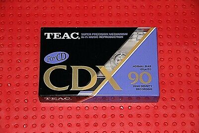 Teac      Cdx   90    Blank Cassette Tape  (1)     (Sealed)
