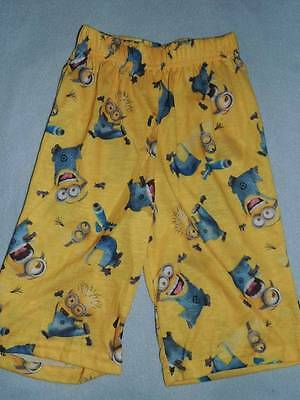 Despicable Me Minion Pajamas Shorts Size 4/5 New!