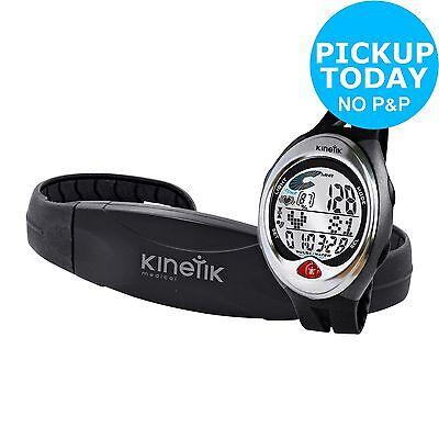 Kinetik Heart Rate Monitor - Black. From the Official Argos Shop on ebay