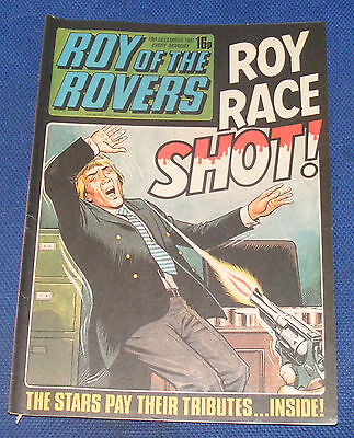 Roy Of The Rovers Comic 19Th December 1981 Sign Please - Adrian Heath