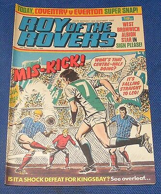 Roy Of The Rovers Comic 18Th December 1982 Sign Please - Brendan Batson