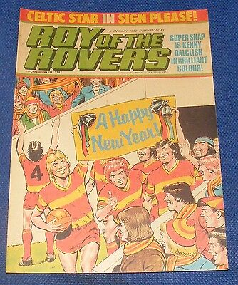 Roy Of The Rovers Comic 1St January 1983