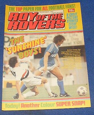 Roy Of The Rovers Comic 9Th October 1982  Sign Please Alan Brazil