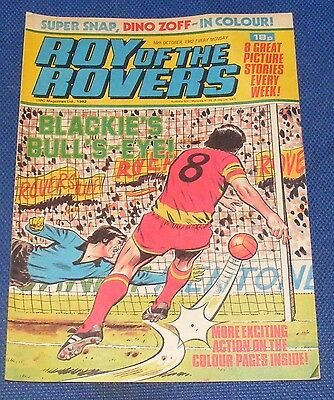 Roy Of The Rovers Comic 16Th October 1982  Sign Please Billy Hamilton
