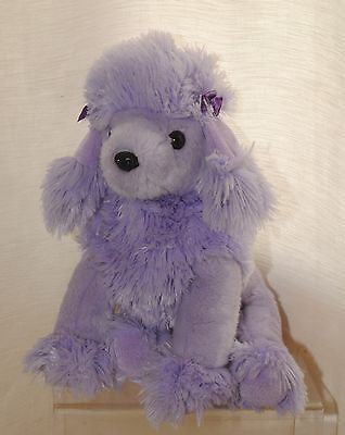 Ty Beanie Buddies 11 Inch Demure The Purple Poodle Soft / Plush Toy