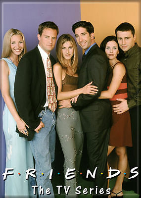 Friends (TV Series) Photo Quality Magnet: The Cast