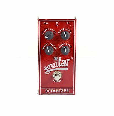 Aguilar Octamizer Analog Octave Effects Pedal w Original Box