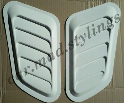RS Turbo Style Bonnet Vents/Scoop/Air Intake Universal