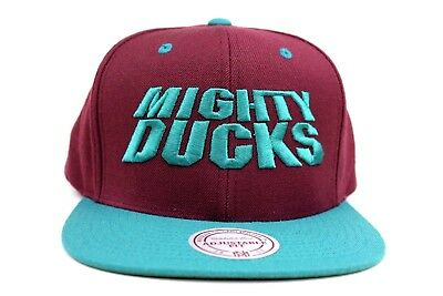 d5b1681c9ad6 ANAHEIM DUCKS MAROON Teal 20th Anniversary Patch NHL New Era 59Fifty ...
