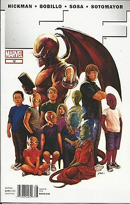 Marvel FF comic issue 12