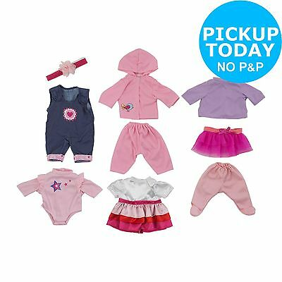 Chad Valley Babies to Love 4 Doll Outfits Set -From the Argos Shop on ebay