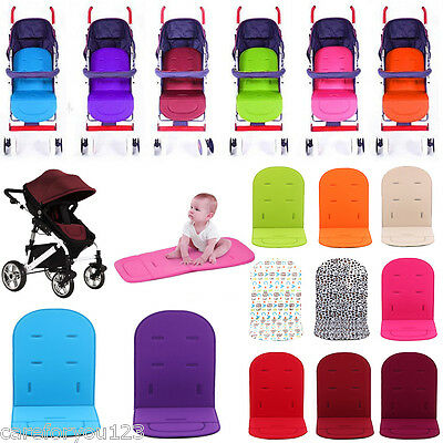 Four Seasons Washable Stroller Pushchair Car Seat Padding Pram Liner Pad Cushion