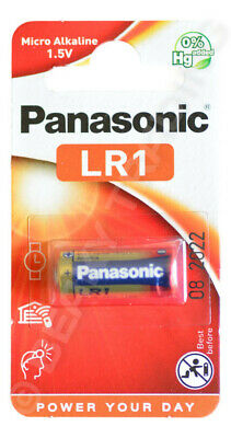 Genuine PANASONIC N LR1 910A Alkaline battery 1.5v [1-Pack]
