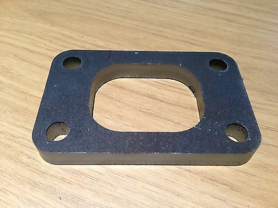 Mild Steel T2/T25/T28/GT20/GT28 Turbo Flange, 10mm