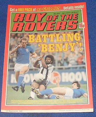 Roy Of The Rovers Comic 8Th May 1982  Sign Please John Chiedozie