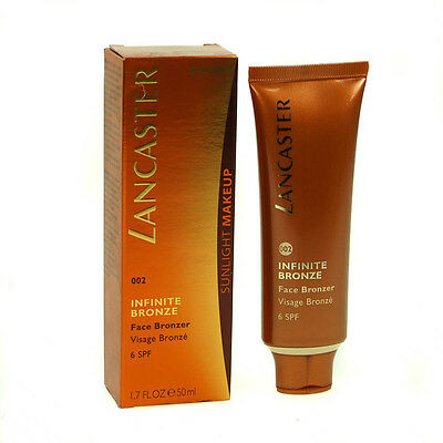 Lancaster Infinite Bronze Tinted Face Bronzer Spf6 50Ml -002 Sunny - Brand New