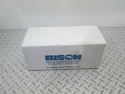 Bison Gear Motor Series 100 230V 12 Rpm 139:1 Ratio 1/20 Hp (016-103-3139)